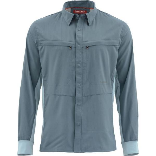 シムズ Simms メンズ シャツ トップス Intruder BiComp Shirt Storm fermart3-store
