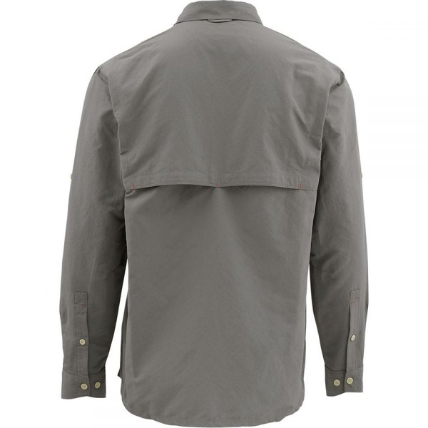 シムズ Simms メンズ シャツ トップス Guide Long - Sleeve Shirt Pewter|fermart3-store|02