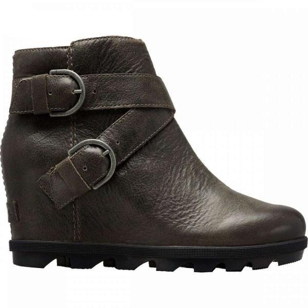ソレル Sorel レディース ブーツ ウェッジソール シューズ・靴 joan of arctic wedge ii buckle boot Quarry