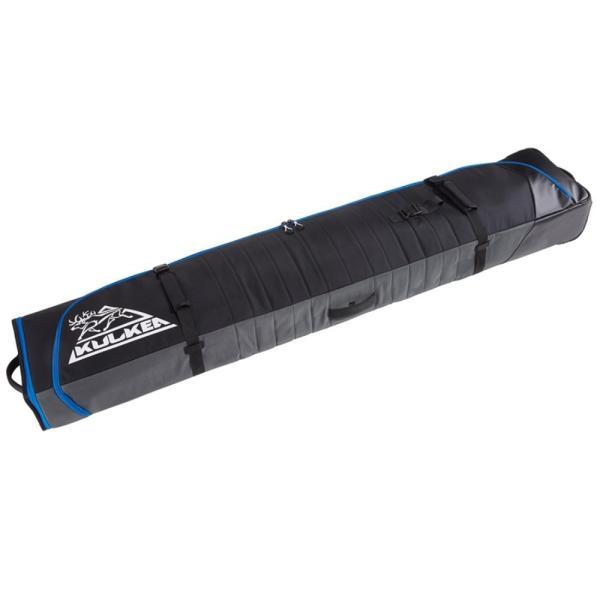 Kulkea ユニセックス スキー・スノーボード スーツケース・キャリーバッグ Kantaja Double Roller Ski Bag Black/Grey