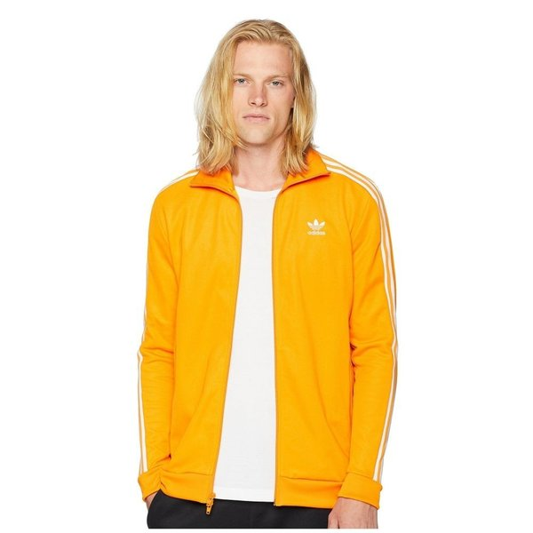 【残り1点!】【サイズ:XL】アディダス adidas Originals メンズ アウター ジャージ Franz Beckenbauer Track Top Bright Orange|fermart3-store