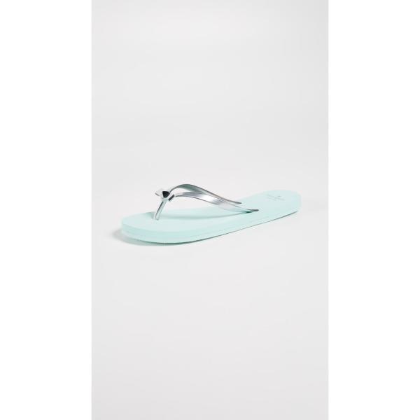 【残り1点!】【サイズ:7】ケイト スペード Kate Spade New York レディース シューズ・靴 ビーチサンダル Happily Imprint Flip Flops