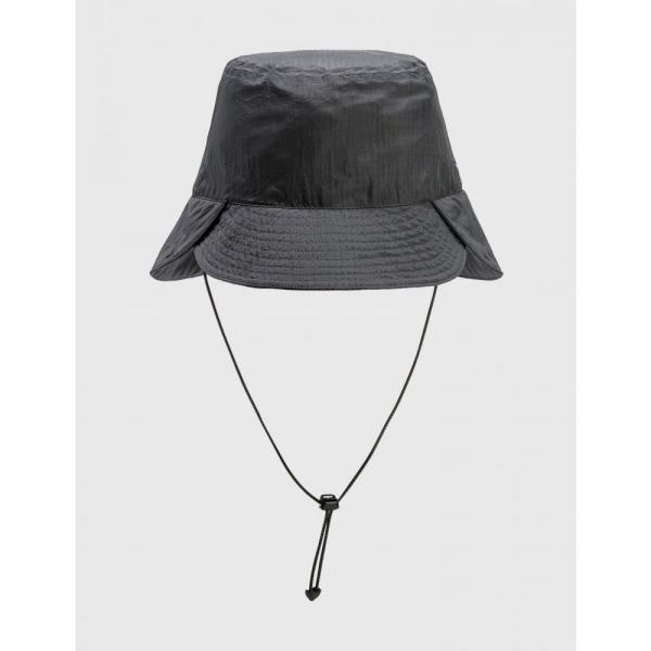 ノズルクイズ Nozzle Quiz メンズ ハット バケットハット 帽子 WK.P-02 CONVERTIBLE BUCKET HAT Grey