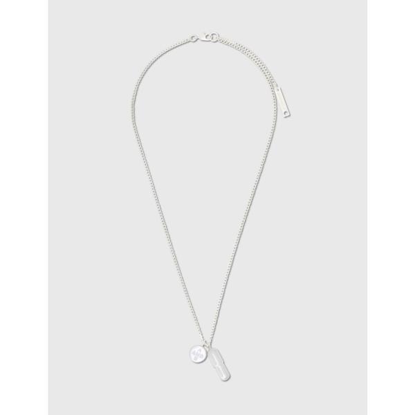 アンブッシュ Ambush メンズ ネックレス チャーム ジュエリー・アクセサリー Pill Charm Necklace Silver