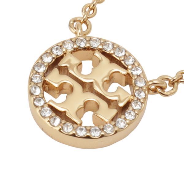 【即納】トリー バーチ Tory Burch レディース ネックレス ジュエリー・アクセサリー Crystal Logo Necklace 53420 Tory Gold / Crystal クリスタルロゴ fermart3-store 03