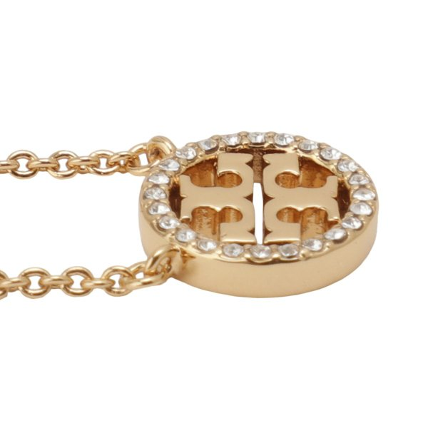 【即納】トリー バーチ Tory Burch レディース ネックレス ジュエリー・アクセサリー Crystal Logo Necklace 53420 Tory Gold / Crystal クリスタルロゴ fermart3-store 05