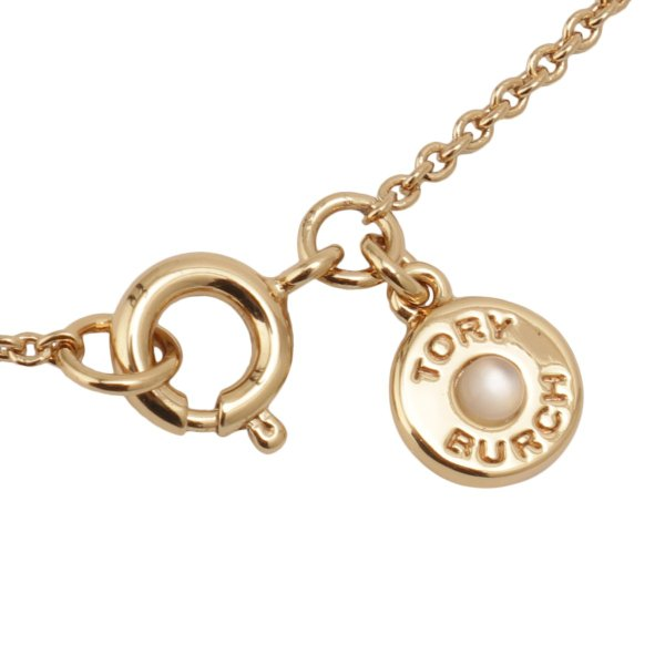 【即納】トリー バーチ Tory Burch レディース ネックレス ジュエリー・アクセサリー Crystal Logo Necklace 53420 Tory Gold / Crystal クリスタルロゴ fermart3-store 06