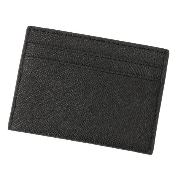 【即納】トリー バーチ Tory Burch レディース カードケース・名刺入れ Robinson Card Case 54886 Perfect Black ロゴ|fermart3-store|02