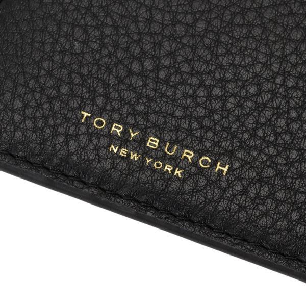 【即納】トリー バーチ Tory Burch レディース カードケース・名刺入れ Perry Top-Zip Card Case 61075 Perfect Black ペリー|fermart3-store|03