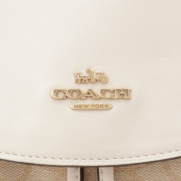 【即納】コーチ Coach レディース バックパック・リュック バッグ ELLE BACKPACK IMDQC シグネチャー エル ジャカード F73313|fermart3-store|04