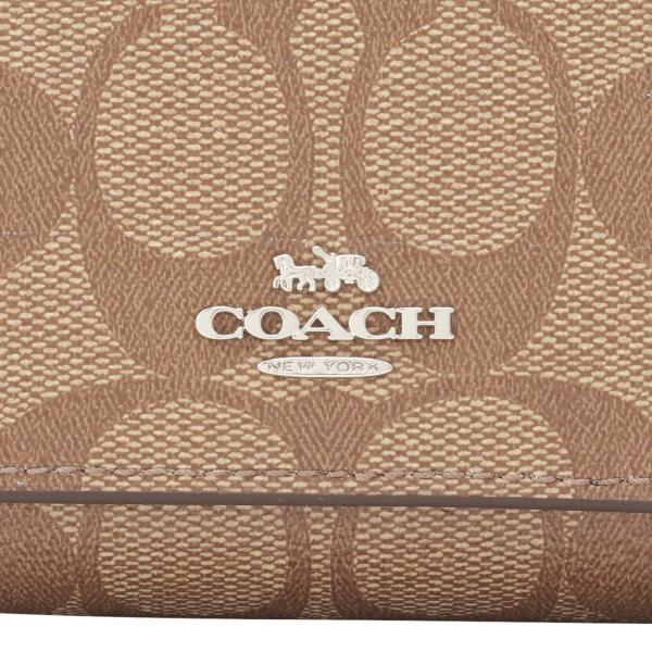 【即納】コーチ Coach レディース 財布 WALLET SVNOQ 3つ折り ラウンドファスナー シグネチャー F41302|fermart3-store|06