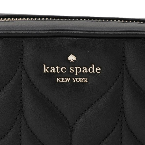 【即納】ケイト スペード Kate spade レディース ショルダーバッグ バッグ Leaf Lane Quilted Camera Bag BLACK 肩がけ 斜めがけ キルティング|fermart3-store|06