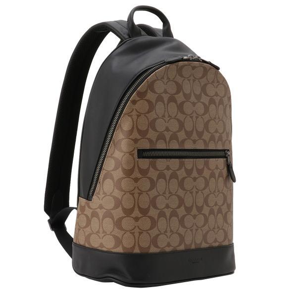 【即納】コーチ Coach ユニセックス バックパック・リュック バッグ Backpack QBTN2 シグネチャー A4 ダブルジップ F78756|fermart3-store