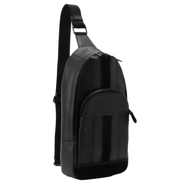 【即納】コーチ Coach メンズ ショルダーバッグ バッグ Leather Bag QBBK ヒューストン ベースボールステッチ F49333|fermart3-store