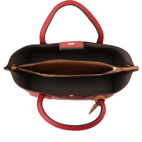 【即納】トリー バーチ Tory Burch レディース トートバッグ バッグ Perry Small Triple-Compartment Tote 56249 Brilliant Red 2way ショルダーバッグ fermart3-store 04