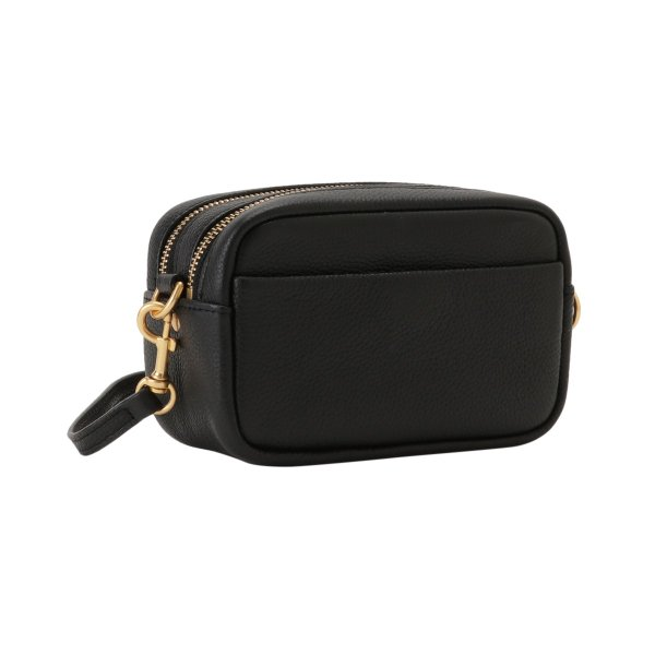 【即納】トリー バーチ Tory Burch レディース ショルダーバッグ バッグ Perry Bombe Mini Bag 55691 Perfect Black エンボスロゴ|fermart3-store|02