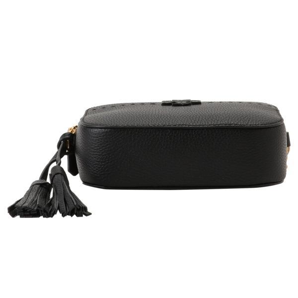 【即納】トリー バーチ Tory Burch レディース ショルダーバッグ バッグ Mcgraw Camera Bag 50584 Perfect Black クロスボディ カメラバッグ|fermart3-store|05