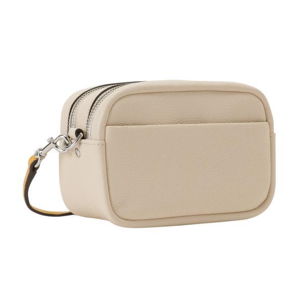【即納】トリー バーチ Tory Burch レディース ショルダーバッグ バッグ Perry Bombe Mini Bag 55691 New Cream / Gold エンボスロゴ|fermart3-store|02