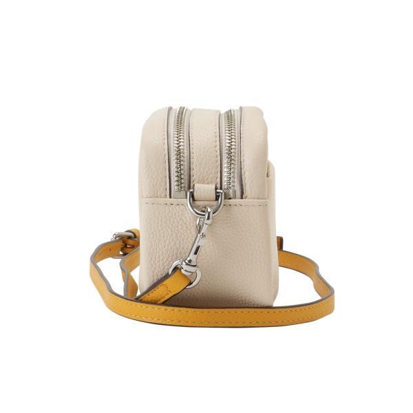 【即納】トリー バーチ Tory Burch レディース ショルダーバッグ バッグ Perry Bombe Mini Bag 55691 New Cream / Gold エンボスロゴ|fermart3-store|03