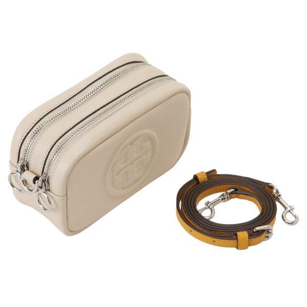 【即納】トリー バーチ Tory Burch レディース ショルダーバッグ バッグ Perry Bombe Mini Bag 55691 New Cream / Gold エンボスロゴ|fermart3-store|06