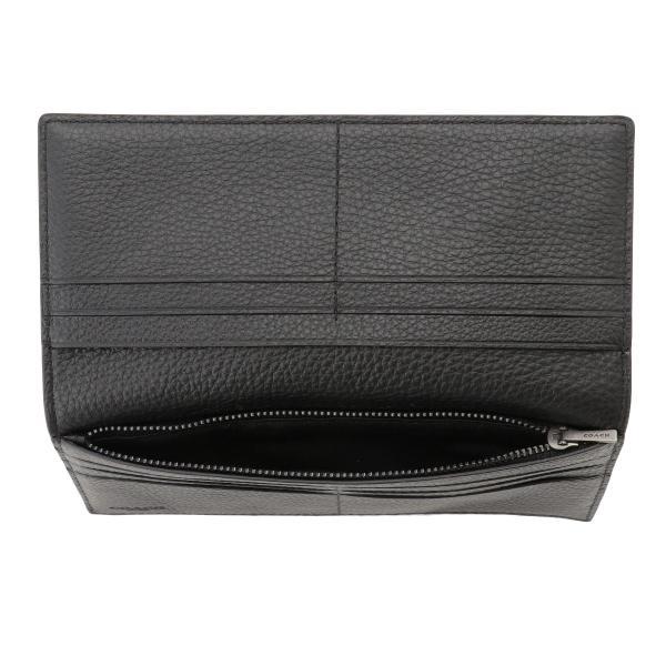 【即納】コーチ Coach メンズ 財布 Breast Pocket Wallet QBBK 長財布 2つ折り財布 二つ折り財布|fermart3-store|04