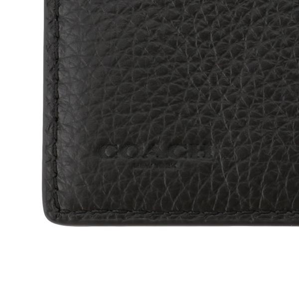 【即納】コーチ Coach メンズ 財布 Breast Pocket Wallet QBBK 長財布 2つ折り財布 二つ折り財布|fermart3-store|07