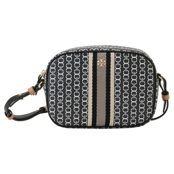 【即納】トリー バーチ Tory Burch レディース ショルダーバッグ バッグ Gemini Link Canvas Mini Bag 57743 Black キャンバス fermart3-store