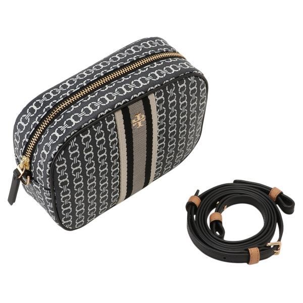 【即納】トリー バーチ Tory Burch レディース ショルダーバッグ バッグ Gemini Link Canvas Mini Bag 57743 Black キャンバス fermart3-store 06