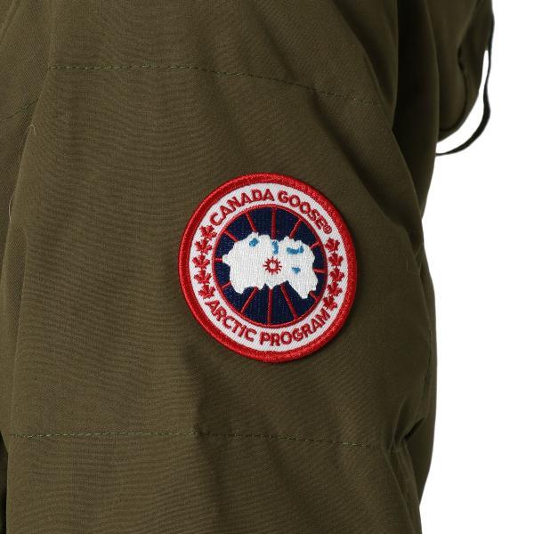 【即納】カナダグース CANADA GOOSE メンズ ダウン・中綿ジャケット アウター Carson Parka CG 3805M 3149 Military Green カーソン パーカーコヨーテファー fermart3-store 04