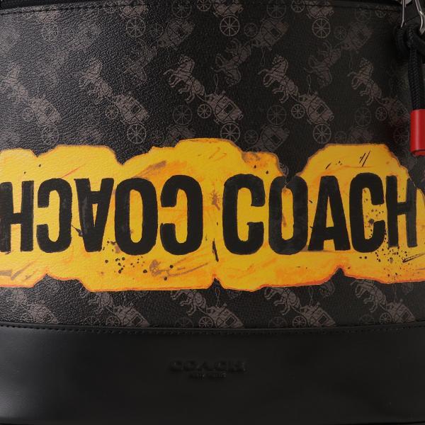 【即納】コーチ Coach ユニセックス バックパック・リュック バッグ West Slim Backpack QBM2 グラフィティ f83425|fermart3-store|05