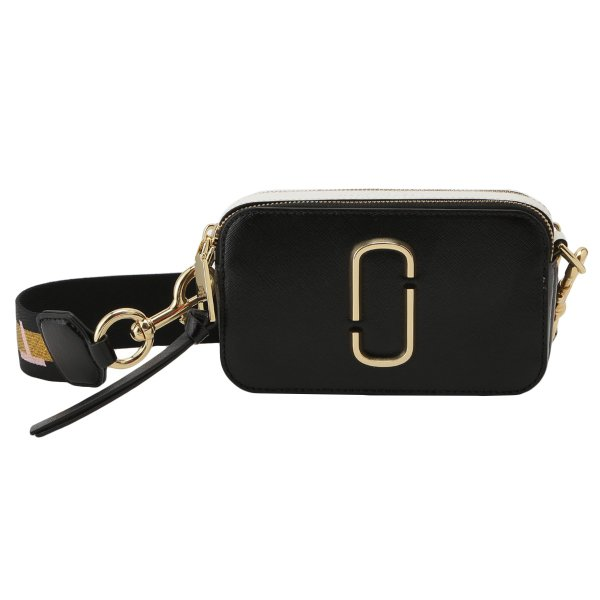 【即納】マーク ジェイコブス Marc Jacobs レディース ショルダーバッグ バッグ SNAPSHOT M0014146 NEW BLACK MULTI スナップショット 斜めがけ|fermart3-store