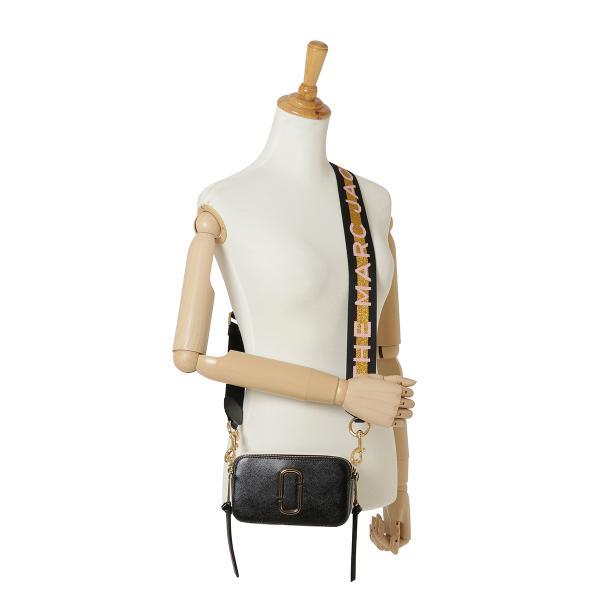 【即納】マーク ジェイコブス Marc Jacobs レディース ショルダーバッグ バッグ SNAPSHOT M0014146 NEW BLACK MULTI スナップショット 斜めがけ|fermart3-store|08