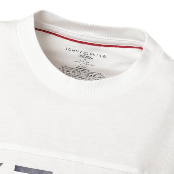 【即納】トミー ヒルフィガー Tommy Hilfiger メンズ 長袖Tシャツ トップス MODERN ESSENTIALS CREW NECK  WHITE ロンT ロングT ロゴ プリント fermart3-store 05