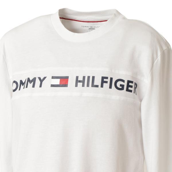 【即納】トミー ヒルフィガー Tommy Hilfiger メンズ 長袖Tシャツ トップス MODERN ESSENTIALS CREW NECK  WHITE ロンT ロングT ロゴ プリント fermart3-store 06