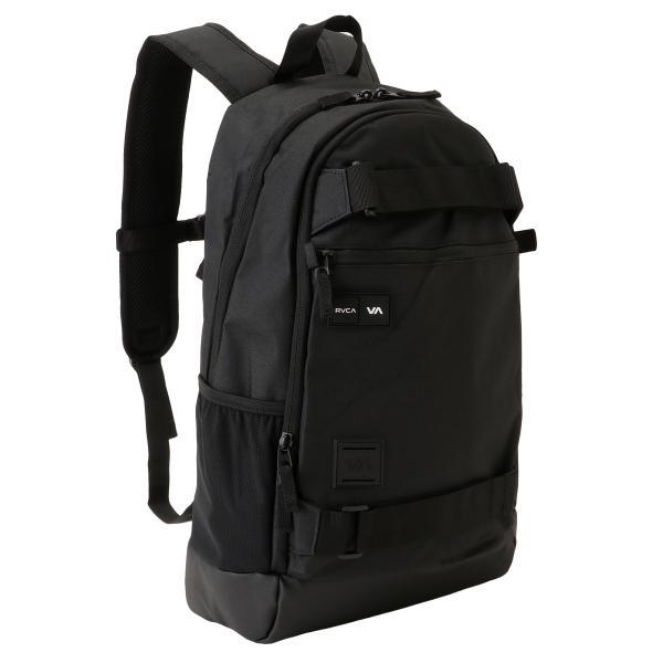 【即納】ルーカ RVCA ユニセックス バックパック・リュック バッグ Curb Backpack BLACK ロゴ 通勤 通学 デイパック fermart3-store