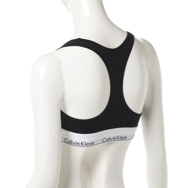 【即納】カルバンクライン Calvin Klein Underwear レディース ブラジャーのみ インナー・下着 Modern Cotton Bralette Black fermart3-store 03
