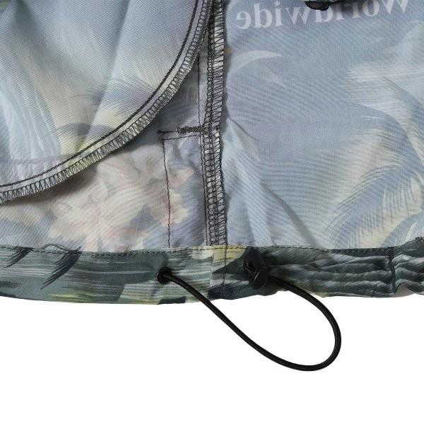 【即納】ハフ HUF メンズ ジャケット アウター アノラック VENICE PACKABLE ANORAK JACKET BLACK|fermart3-store|06