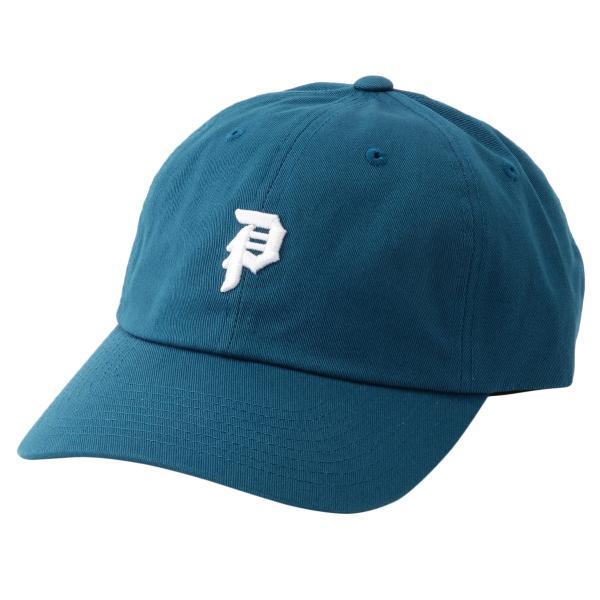 【即納】プリミティブ Primitive ユニセックス キャップ 帽子 MINI DIRTY P DAD HAT HBLU ダッドハット ダッドキャップ ロゴ|fermart3-store