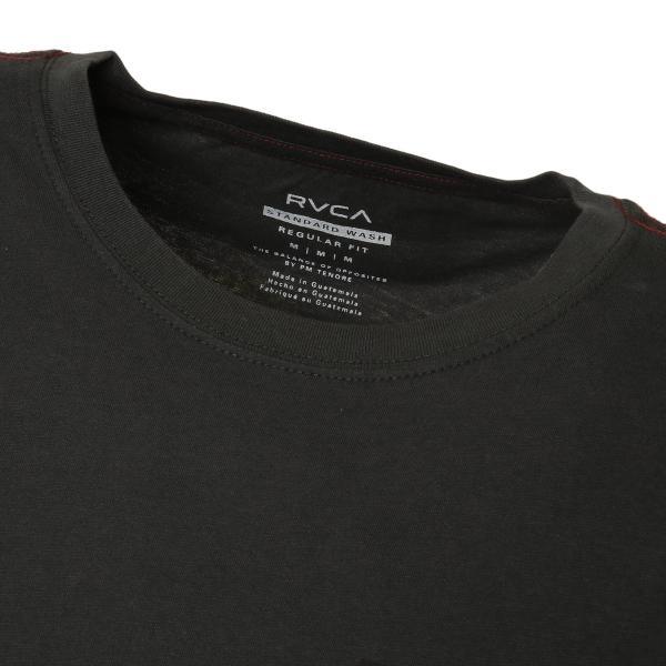 【即納】ルーカ RVCA メンズ 長袖Tシャツ トップス Hazard L/S BLACK ロンT ロングT ロゴ バイアスプリント fermart3-store 05