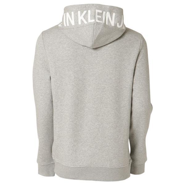 【即納】カルバンクライン Calvin Klein メンズ パーカー トップス NEW ICONIC GRAPHIC HOODIE MED CHARCOAL HTR フーディー フード|fermart3-store|02