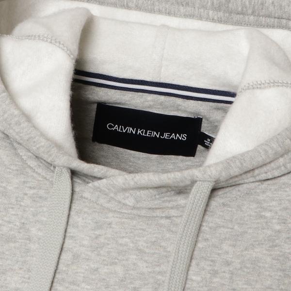 【即納】カルバンクライン Calvin Klein メンズ パーカー トップス NEW ICONIC GRAPHIC HOODIE MED CHARCOAL HTR フーディー フード|fermart3-store|04
