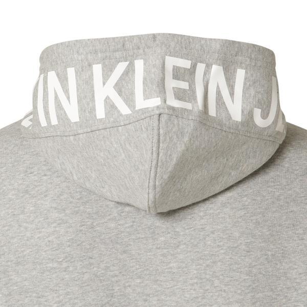 【即納】カルバンクライン Calvin Klein メンズ パーカー トップス NEW ICONIC GRAPHIC HOODIE MED CHARCOAL HTR フーディー フード|fermart3-store|05