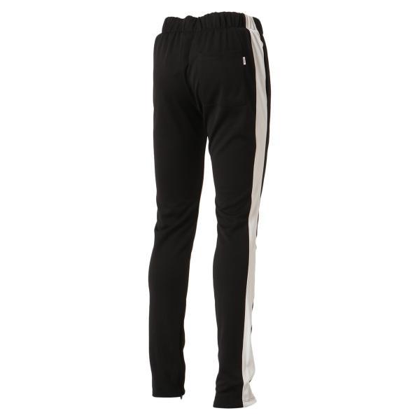 【即納】エピトミ EPTM メンズ スウェット・ジャージ ボトムス・パンツ TRACK PANTS BLACK トラックパンツ 裾ジップ サイドライン|fermart3-store|02