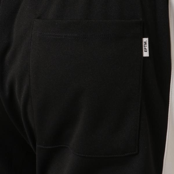 【即納】エピトミ EPTM メンズ スウェット・ジャージ ボトムス・パンツ TRACK PANTS BLACK トラックパンツ 裾ジップ サイドライン|fermart3-store|06