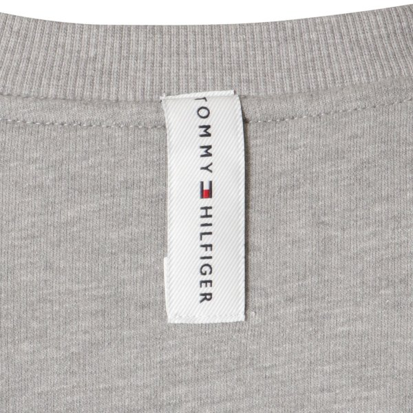 【即納】トミー ヒルフィガー Tommy Hilfiger メンズ 長袖Tシャツ トップス MODERN ESSENTIALS CREW NECK  GRAY HEATHER ロンT ロングT ロゴ プリント|fermart3-store|04