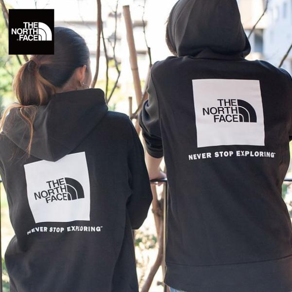 【即納】ザ ノースフェイス The North Face メンズ パーカー トップス Red Box Hoodie BLACK プルオーバー フード フーディー ロゴ|fermart3-store