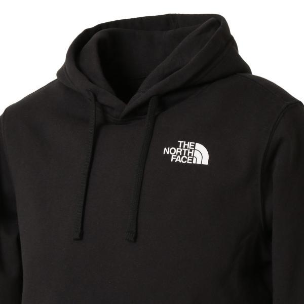 【即納】ザ ノースフェイス The North Face メンズ パーカー トップス Red Box Hoodie BLACK プルオーバー フード フーディー ロゴ|fermart3-store|06