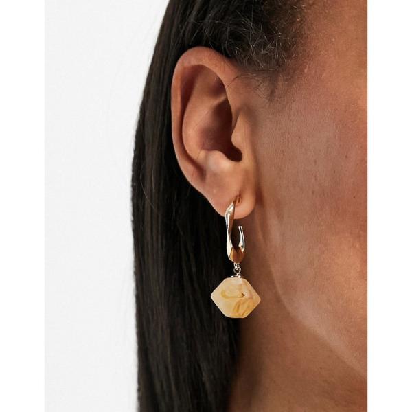 ミス セルフリッジ Miss Selfridge レディース イヤリング・ピアス フープピアス チャーム ジュエリー・アクセサリー Charm Hoop Earrings ゴールド