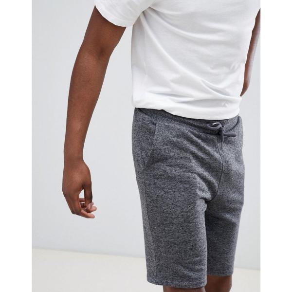 エイソス ASOS DESIGN メンズ ショートパンツ ボトムス・パンツ jersey skinny shorts in charcoal Dark grey|fermart|03