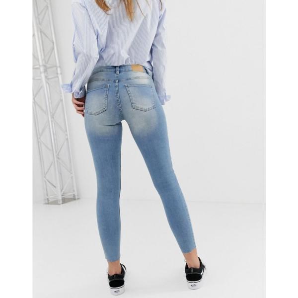 ジェイディーワイ JDY レディース ジーンズ・デニム ボトムス・パンツ Flora ripped skinny jeans Blue|fermart|02